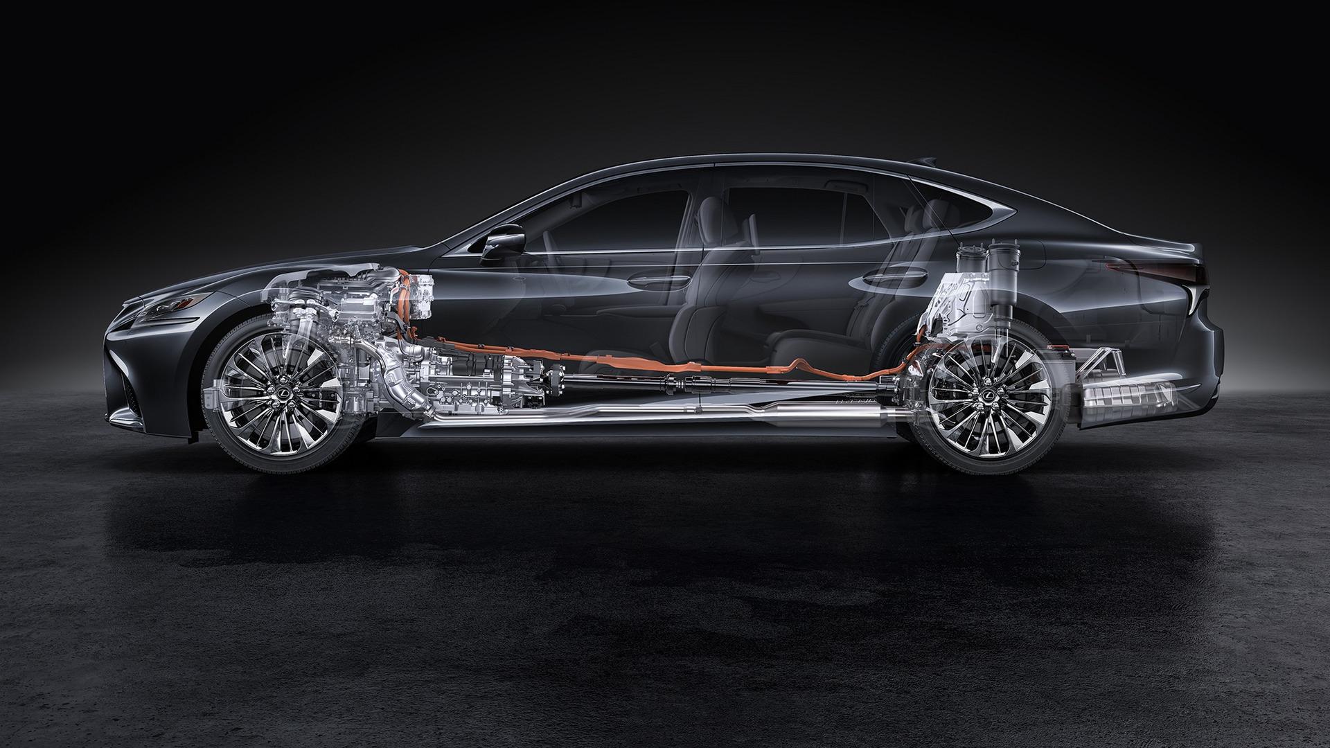 2018 Lexus Ls500h The Sophisticated Sedan For The Younger: New-gen 2018 Lexus LS Flagship Sedan