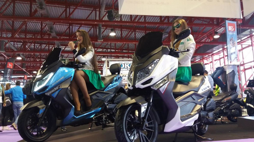 El scooter GOES 125GT EFI sale promocionado al mercado