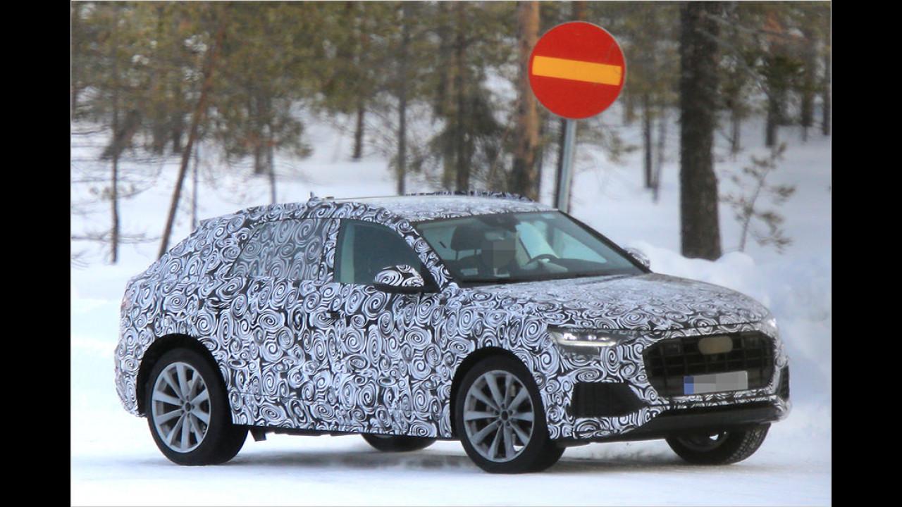 Audi Q8 und Q7 im Vergleich