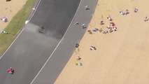 French GP crash