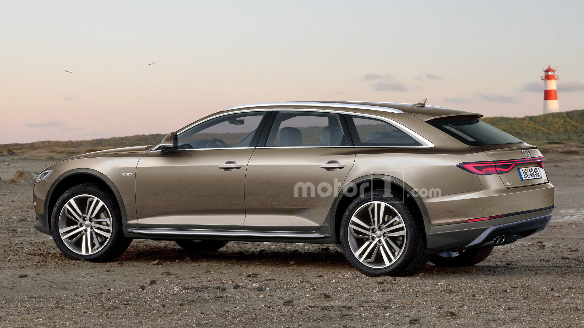 2018 Audi A7 >> Audi A6 Allroad Rendering Looks Ready To Get Dirty