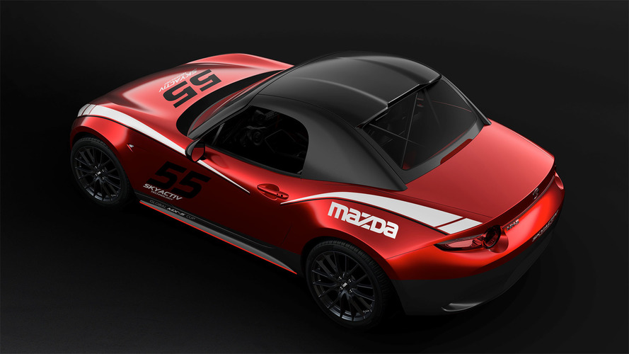 Mazda MX-5 Cup Racers Can Now Buy a Factory Hardtop