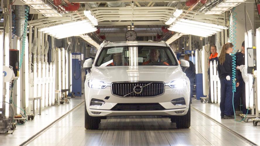 Comienza la producción del Volvo XC60 2018