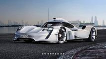 Porsche 919 Hybrid GT1 Rendering
