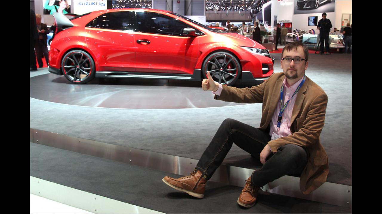 Top: Honda Civic Type R Concept