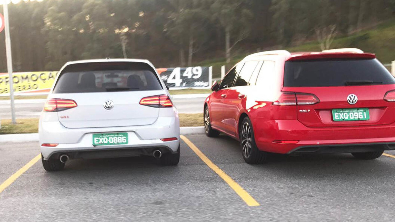 Flagra VW Golf 2018
