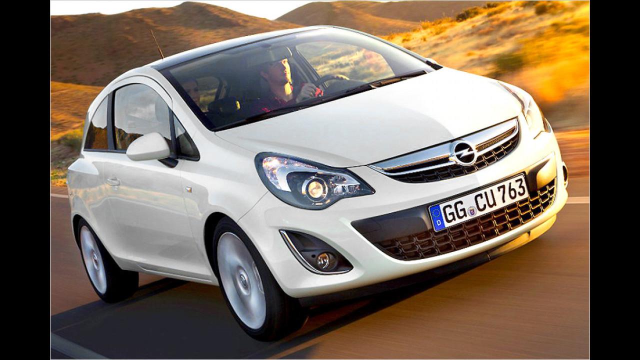VW Polo gegen Opel Corsa