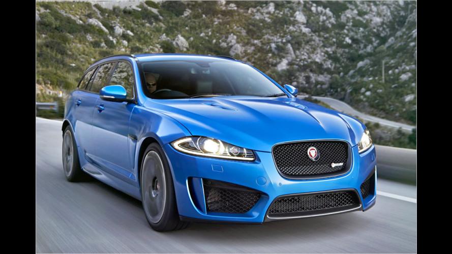 Jaguar-Kombi fährt die Krallen aus