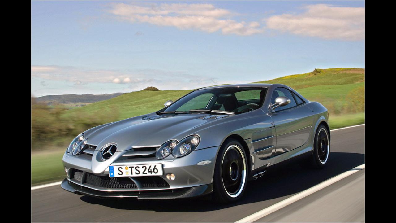 Ein Exemplar: Mercedes SLR McLaren
