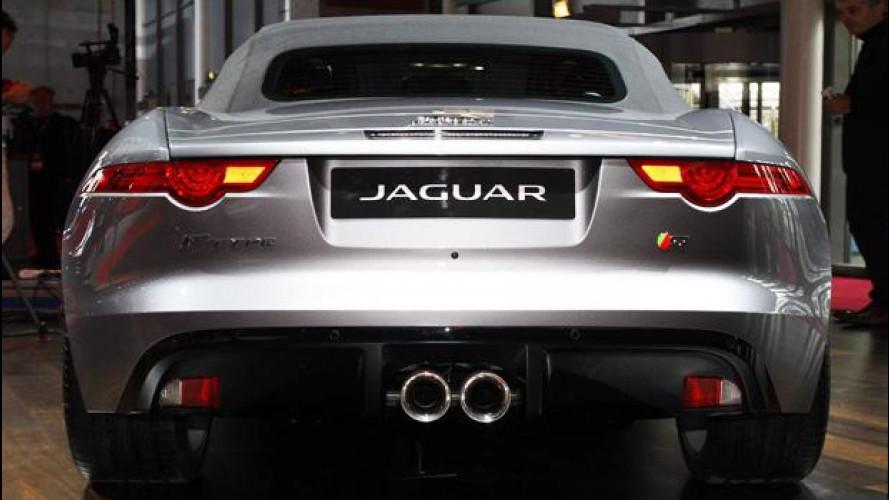 La marmitta della Jaguar F-Type è italiana