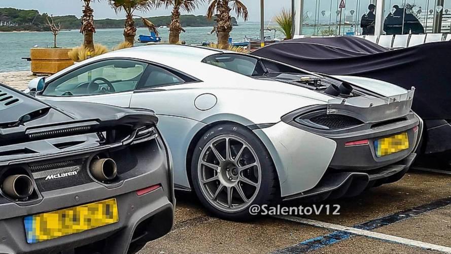 Possible McLaren 600 LT spy photos