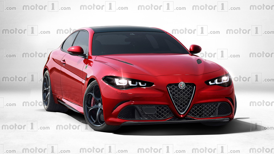 Alfa Romeo GTV rendered – how the new two-door coupe could look