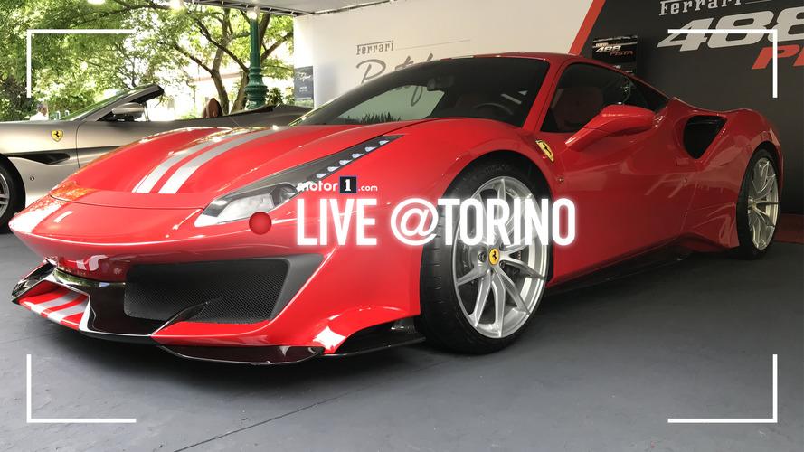 Le supercar più desiderate di Parco Valentino 2018
