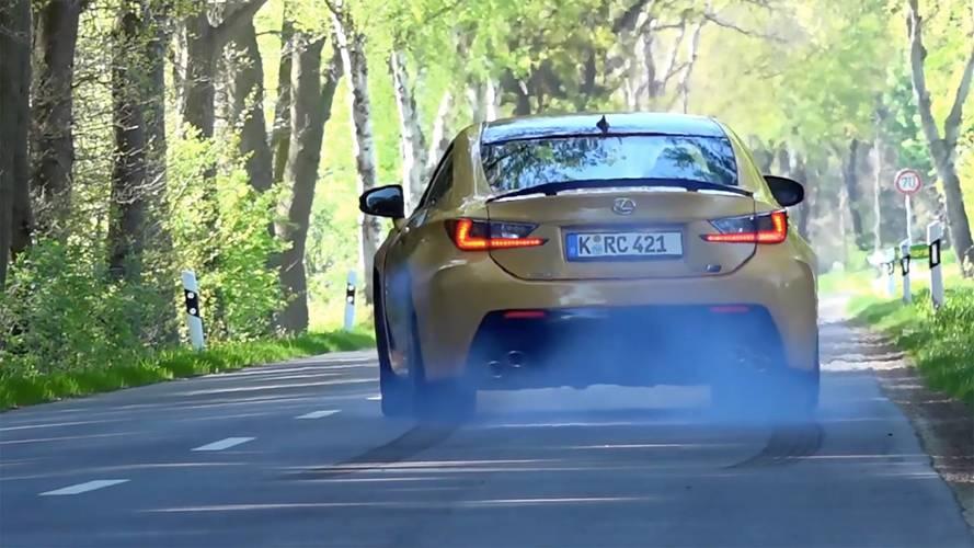 Lexus RC F'in, 0'dan 283 km/s'e hızlanışını izleyin