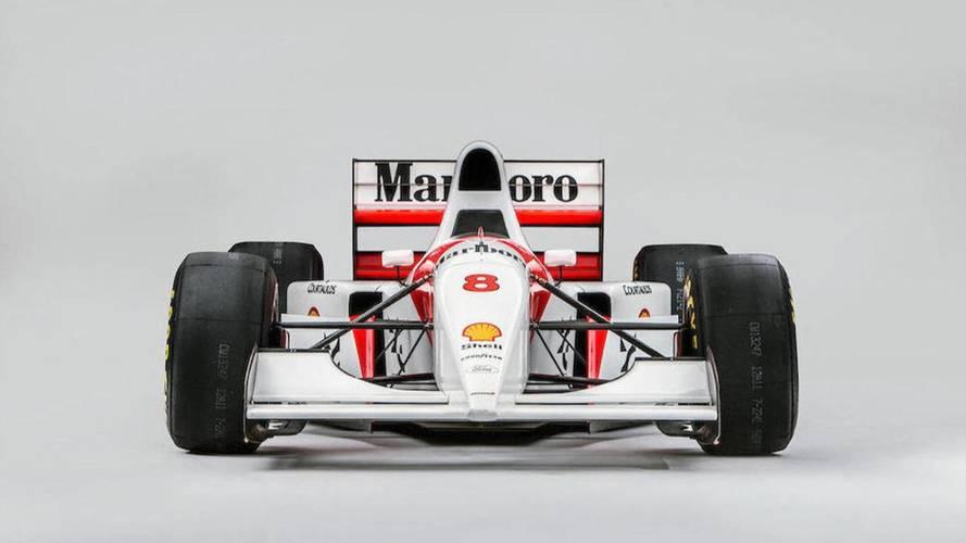 Ecclestone compra el último McLaren con el que Senna ganó en Mónaco