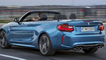 BMW M2 Convertible render