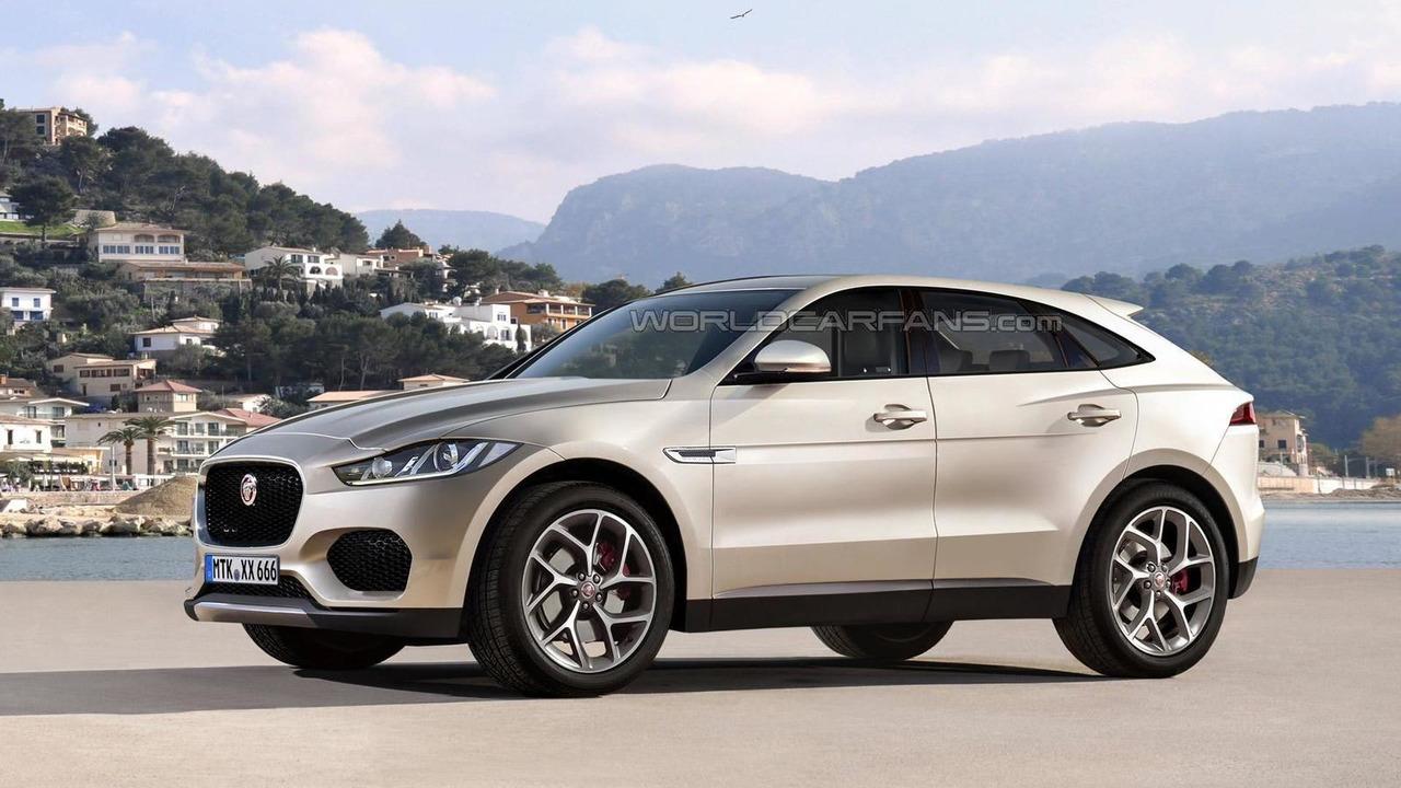 Jaguar E-Pace render