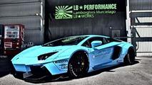 Liberty Walk Lamborghini Aventador first images released