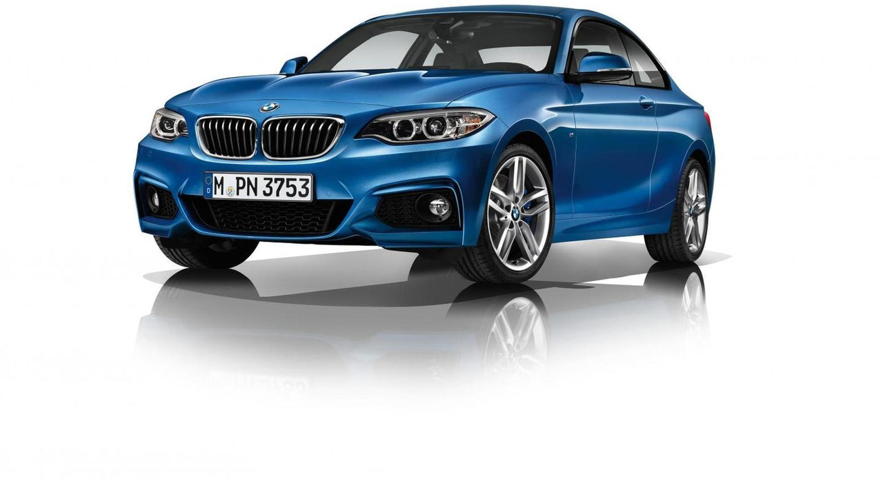 BMW 2 Series Coupe with M Sport Package