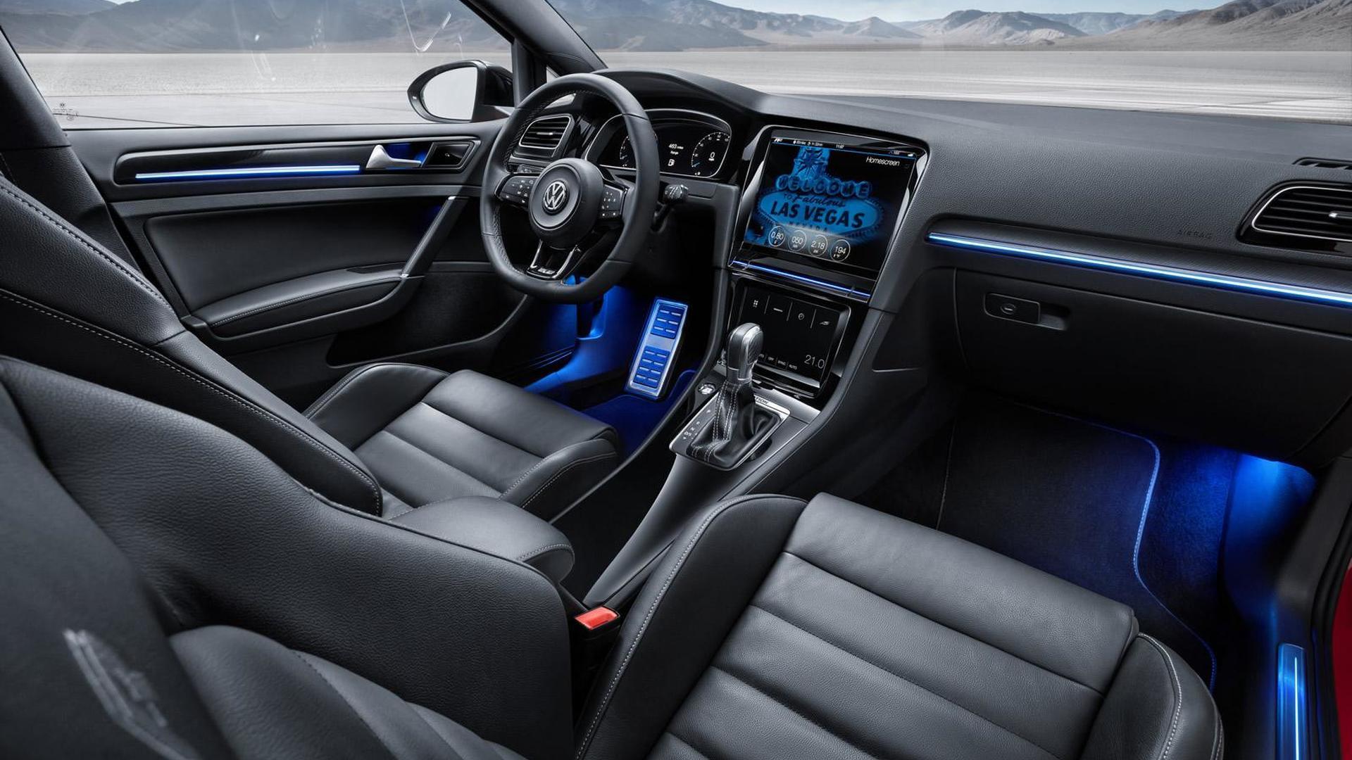 Светодиодная подсветка салона Volkswagen Golf R Touch