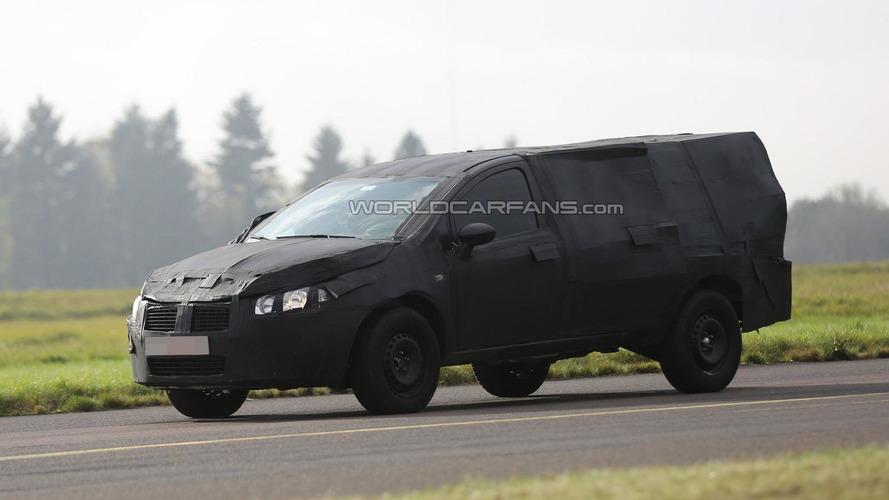 2016 Fiat Strada spied undergoing testing in Germany