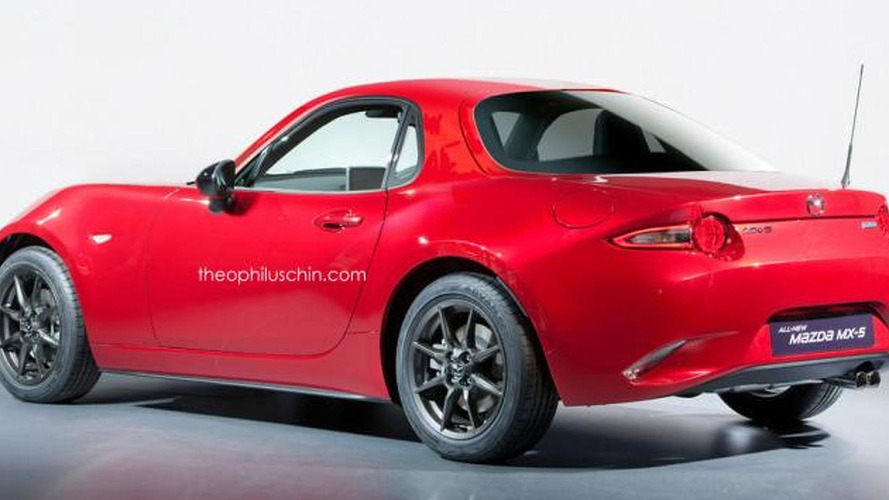 2016 Mazda MX-5 Coupe render has a lot of potential