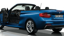 BMW 2-Series Convertible with the M Sport package