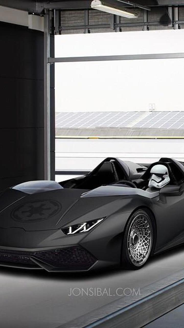 Lamborghini Huracan render
