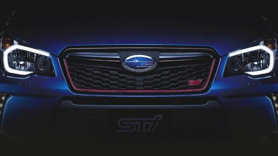 Subaru Forester STi teased ahead of November 25 reveal