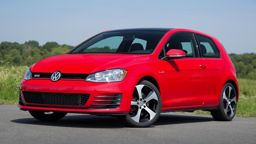 Volkswagen Golf and GTI lose two-door models for 2017