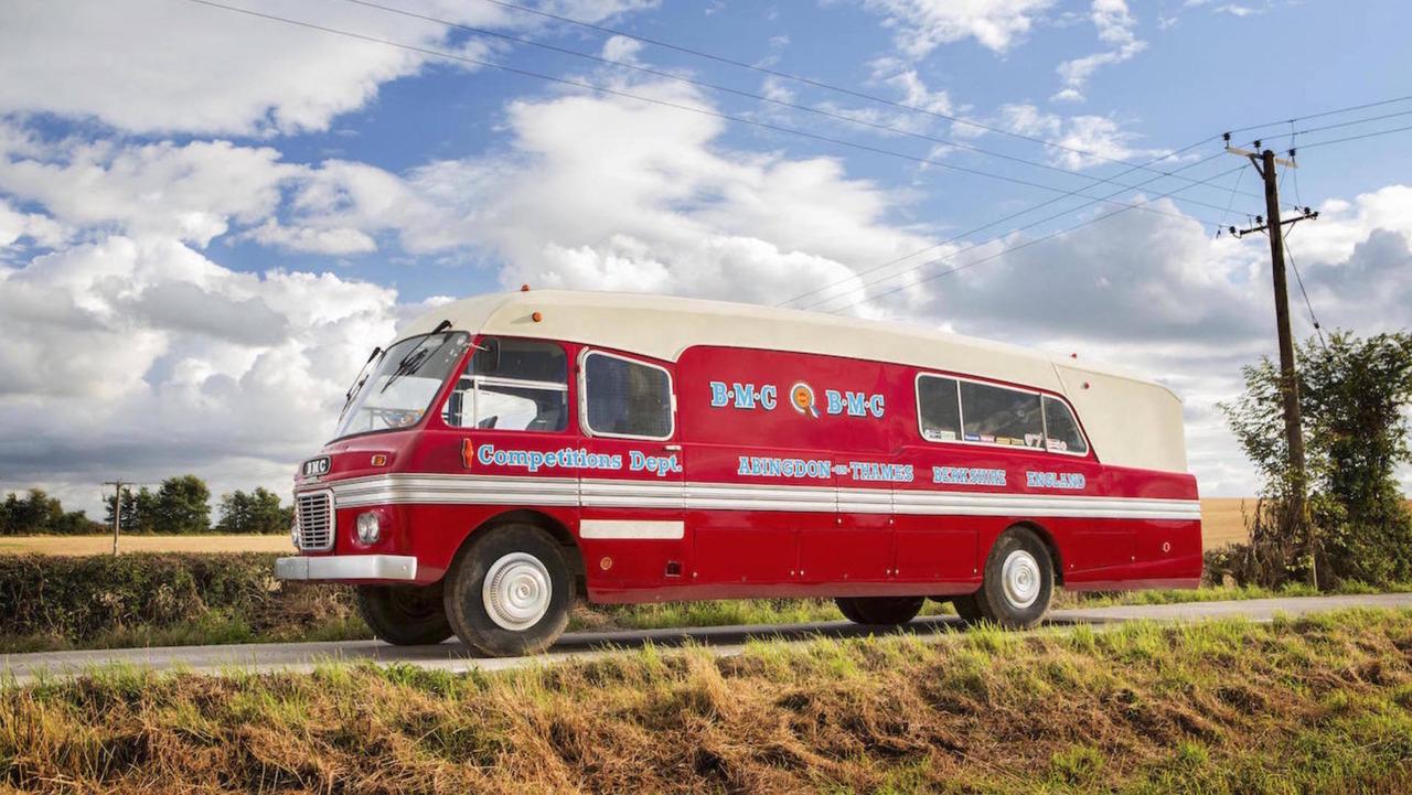 1959 BMC 5-Ton Race Transporter Bus