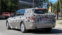 New BMW 5 Series spy photo