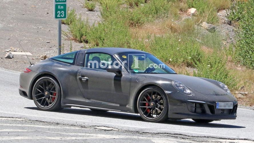 Porsche 911 Targa GTS - Surprise sans camouflage