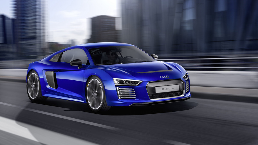 Audi R8 e-tron elektrikli süper sporun üretimi sona erdi