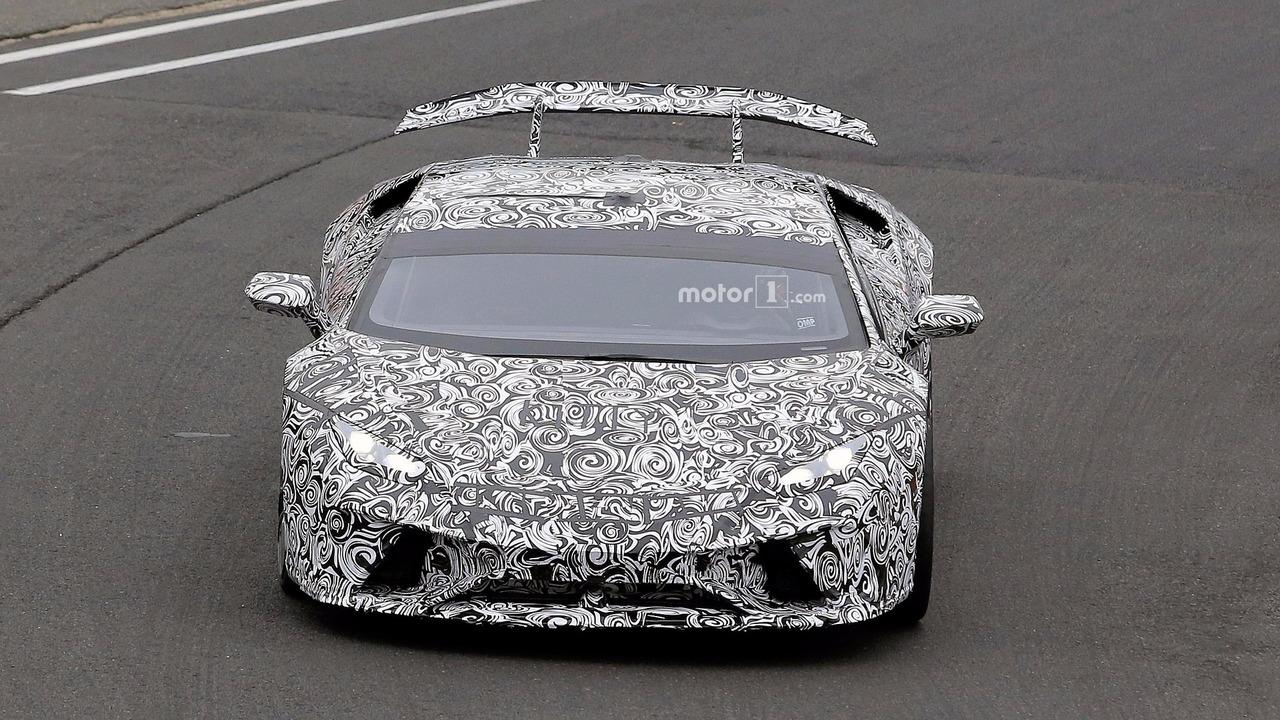 Lamborghini Huracan Superleggera casus fotoğrafları, Nürburgring