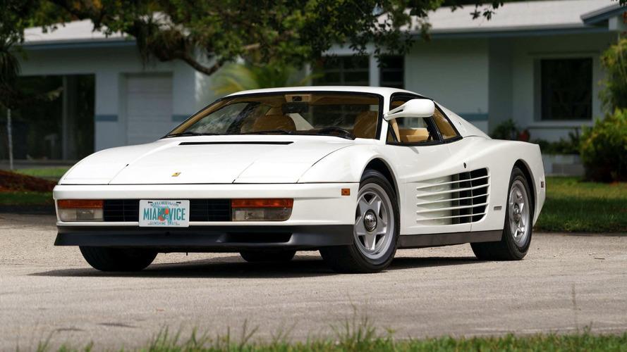 1986 Ferrari Testarossa Miami Vice Auction