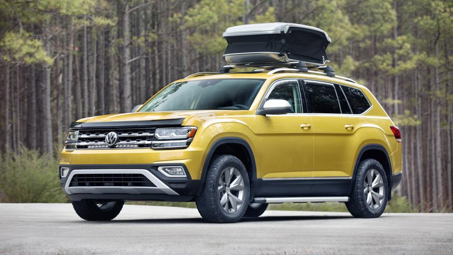 Volkswagen Atlas ganha edição voltada para o camping