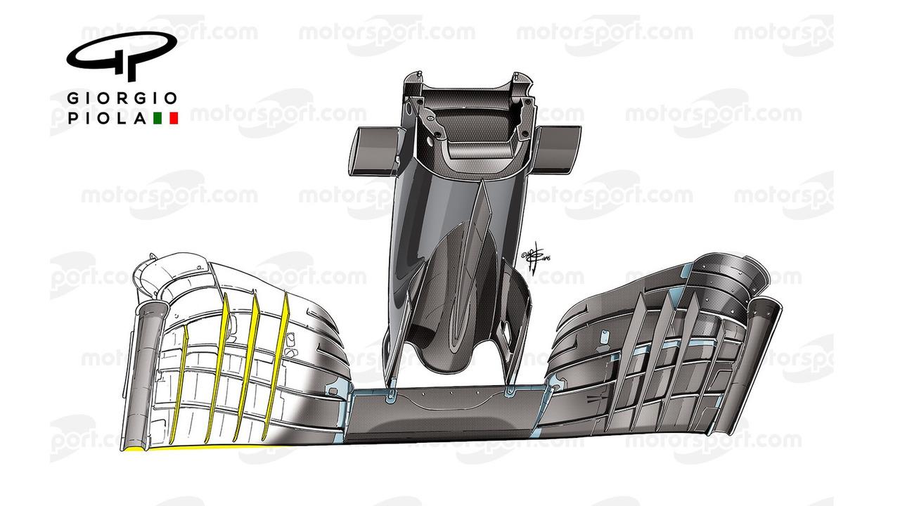 McLaren-Honda MP4-31 ön kanat