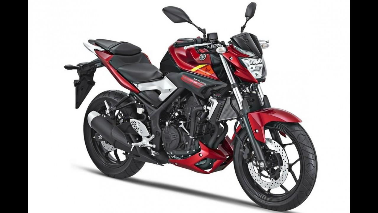 Flagra! Nova Yamaha MT-03 surge em imagens de patente