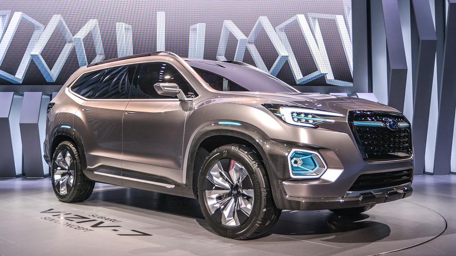 Subaru Viziv-7 Concept is ready to shrug off VW Atlas