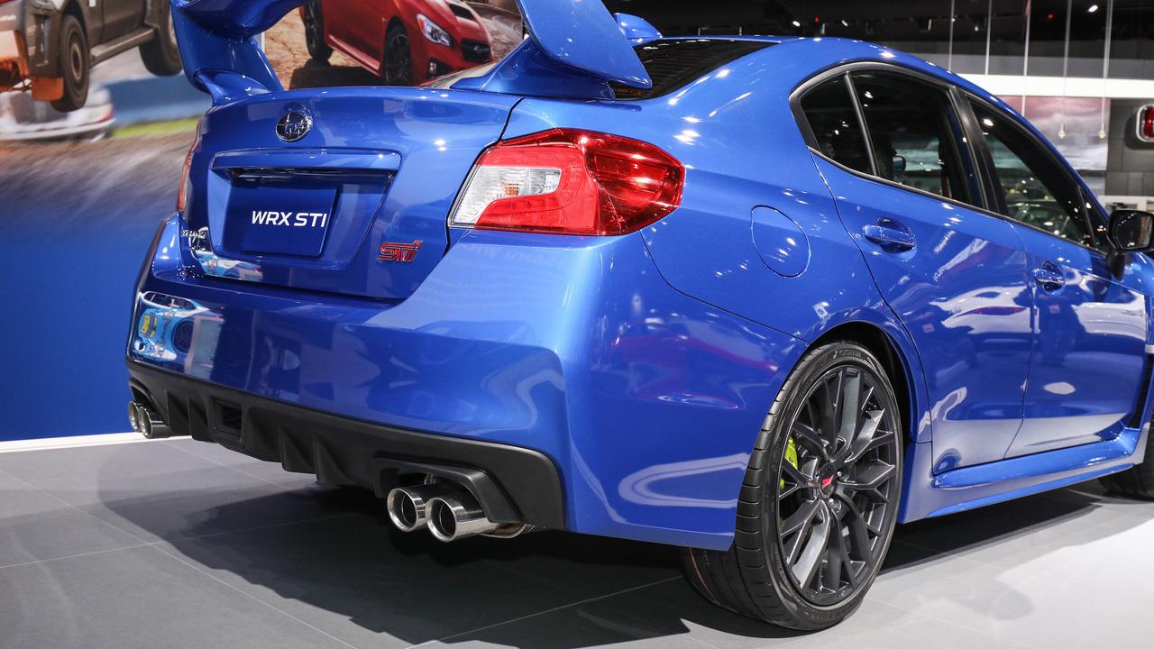 2018 Subaru WRX and STI pack improved tech into fresh ...