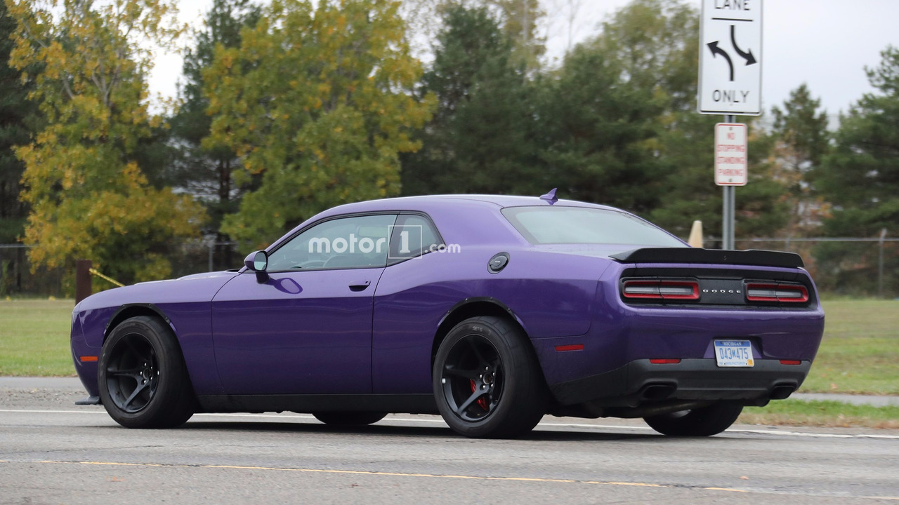 2018 Charger Demon >> Dodge Challenger Demon will be hotter than Hellcat