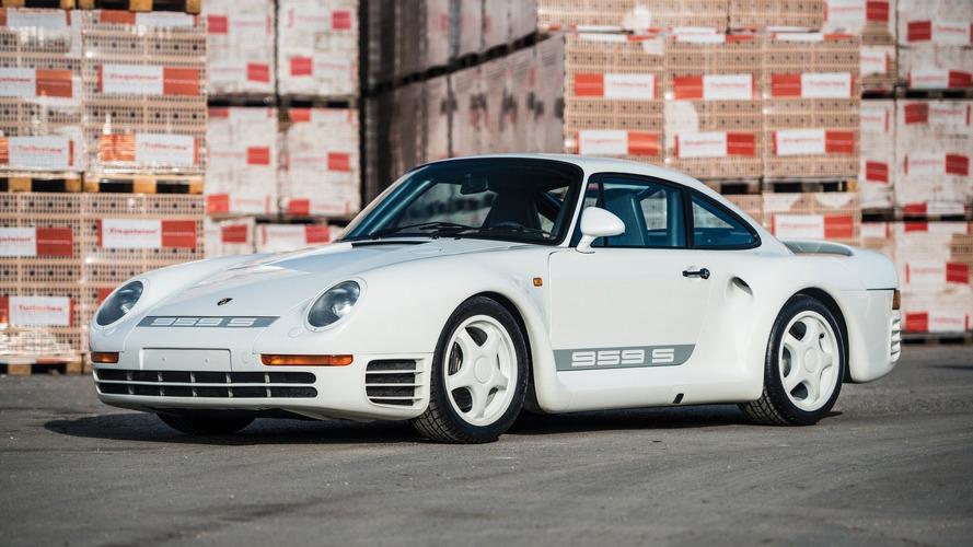Nadir Porsche 959 Sport açık arttırma yolunda