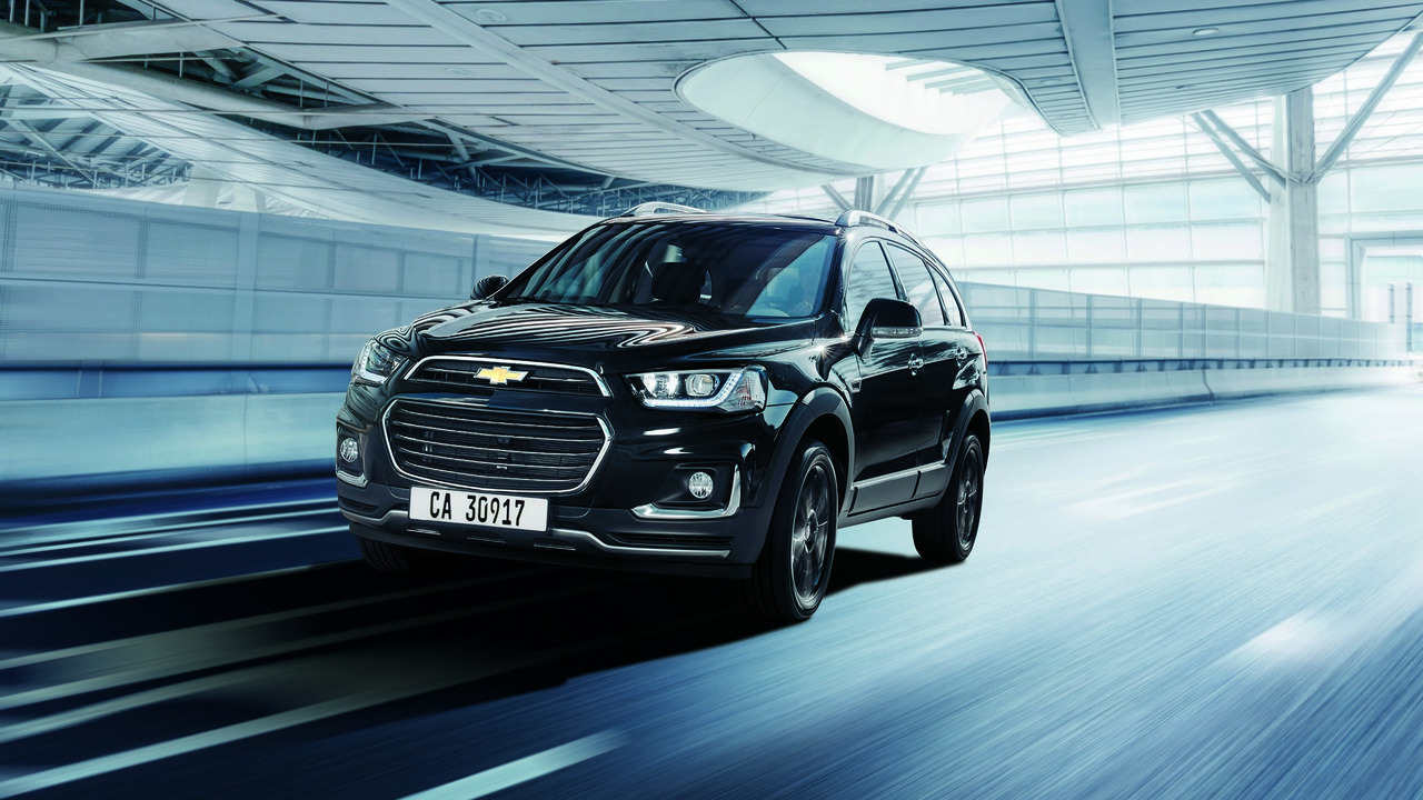Chevrolet Captiva Perfect Black