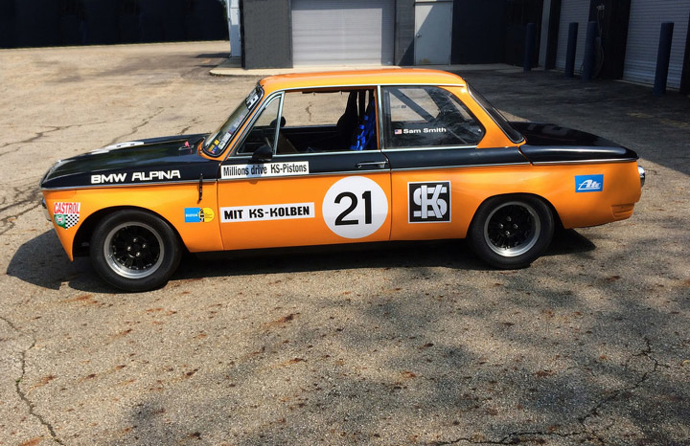 Restored Alpina BMW 2002TI to Race at Monterey