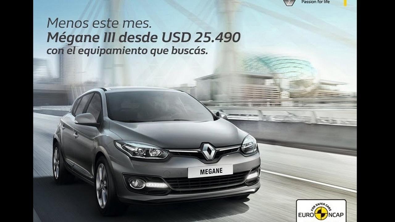 Renault Megane ad in Uruguay