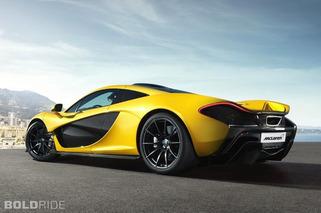 Production-Ready McLaren P1: 218MPH, $1.15M, Yellow