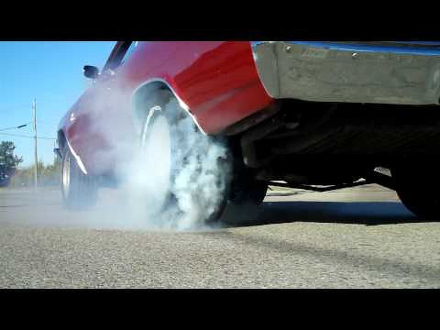 1969 Chevelle SS 396 Burnout