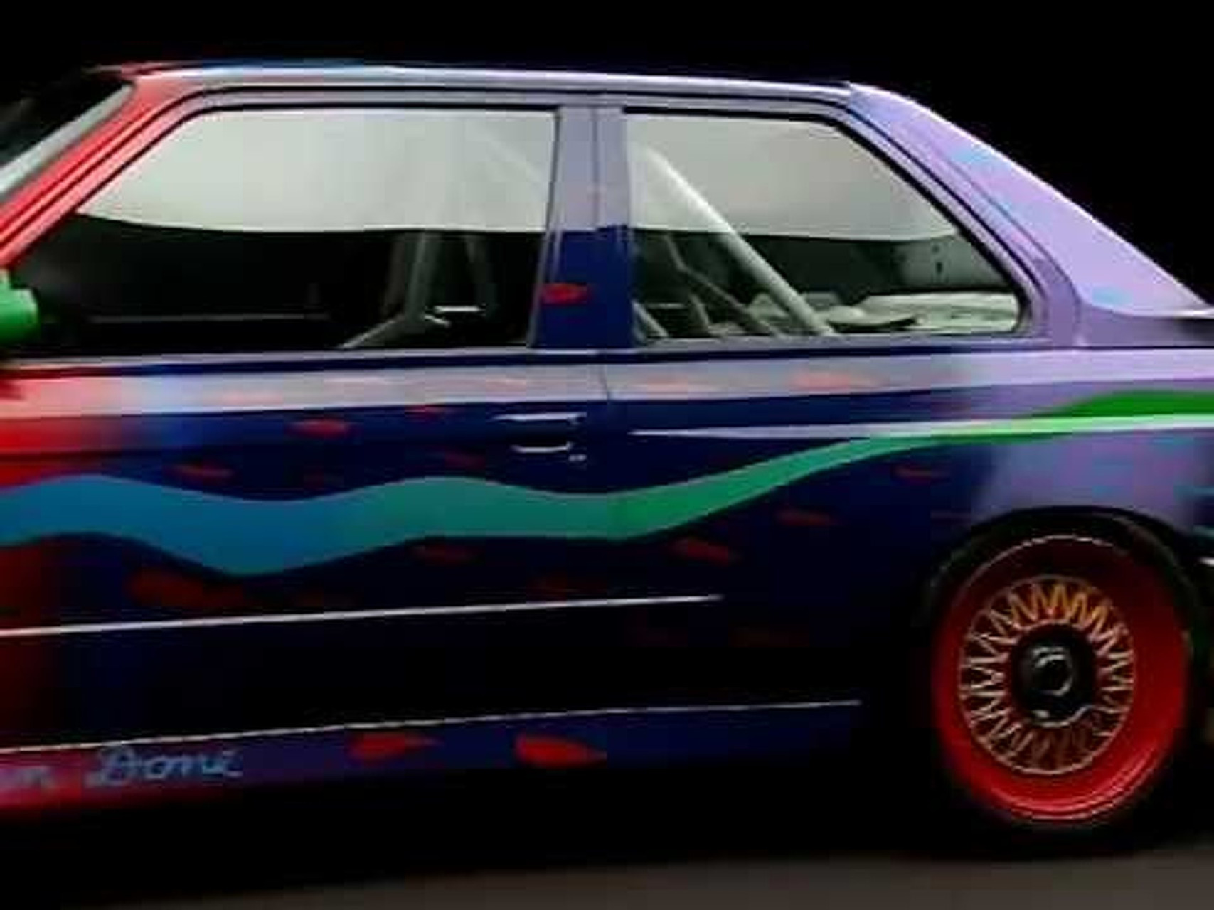 BMW M3 Art Car von Ken Done, 1989