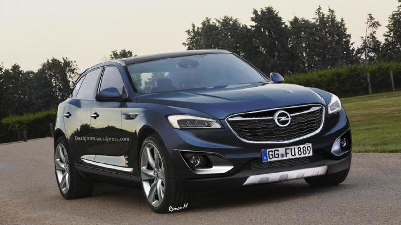 Render Opel Insignia SUV